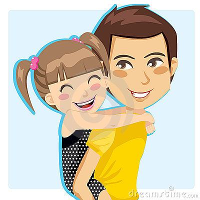 Free Daddy S Little Girl Stock Image - 18747441