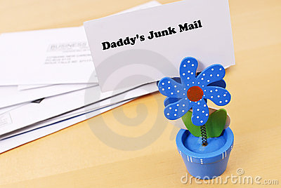 Daddys Junk Mail Pile
