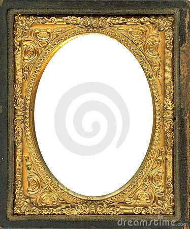 Free Daguerreotype Frame With Clipping Path Royalty Free Stock Images - 15360029
