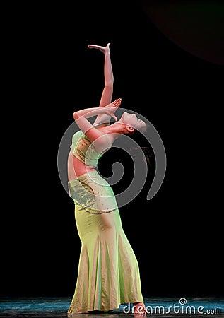Dai basic dance training--Chinese folk dance