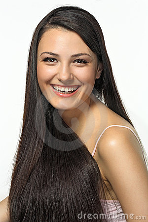 Free Daily Care Of Long Hair Royalty Free Stock Image - 15797136