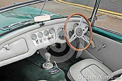 daimler dart sp250 vintage interior