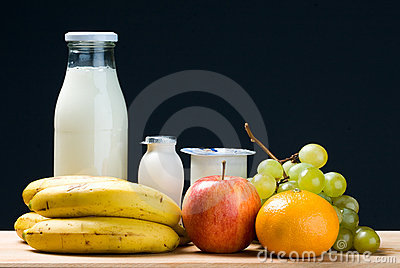 Dairy and fruit