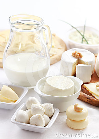 Free Dairy Products Royalty Free Stock Photo - 24360855