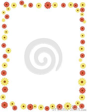 Daisy border / frame