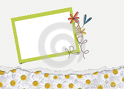 Daisy Border with frame