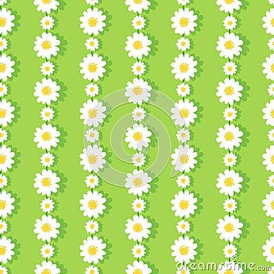 Free Daisy Chain Pattern Stock Image - 50691081