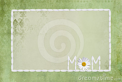 Daisy Frame for Mom