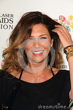Daisy Fuentes at the Elizabeth Glaser Foundation s  Editorial Stock Photo
