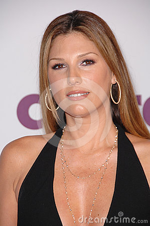 Daisy Fuentes,Kelly Stone Editorial Photo