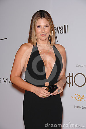 Daisy Fuentes,Kelly Stone Editorial Stock Image