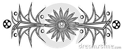 Daisy tattoo