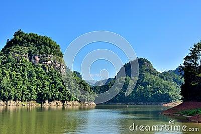 DaJin Lake, Taining, Fujian, China