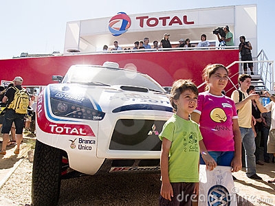 Dakar 2010-argentina.chile Editorial Photo