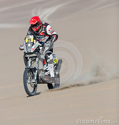 Dakar Rally 2013 Editorial Stock Photo