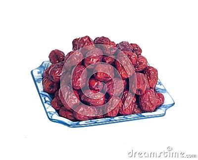 Daktylowa czerwień