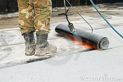 Roofing Equipment Asphalt Application Tools