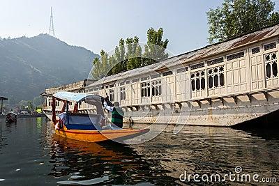 Dal lake, Srinagar, Jammu and Kashmir tourism Editorial Stock Photo