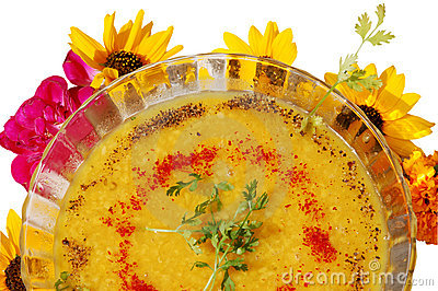 Dal moongi soup