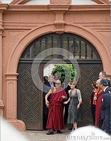 Dalai Lama Editorial Image
