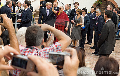 Dalai Lama Editorial Stock Image