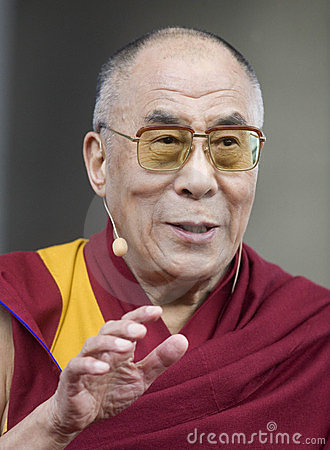 Dalai Lama Editorial Stock Photo