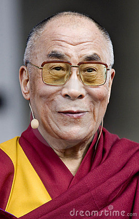 Free Dalai Lama Royalty Free Stock Photo - 23850795