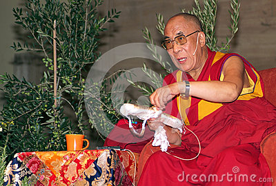 Dalai Lama Editorial Stock Image