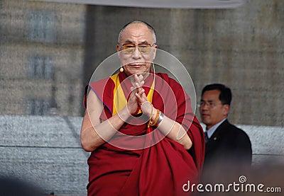 Dalai Lama Editorial Stock Photo