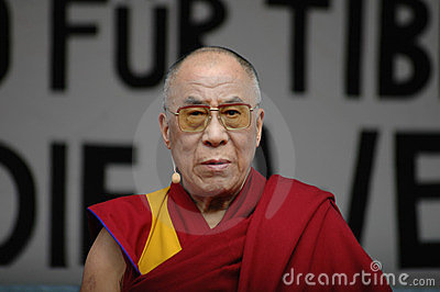 Dalai Lama Editorial Photo