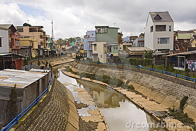 DaLat in the Central Highlands of Vietnam