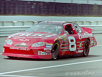 Dale Earnhardt Jr #8 race car. Editorial Photography