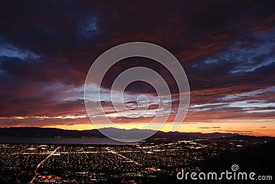 Dale Utah zmierzchu