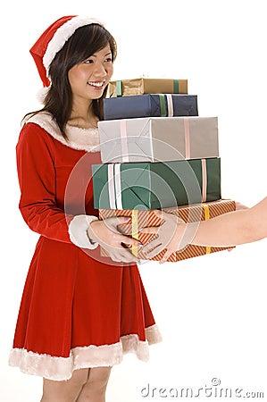 Daleko od dawania prezentów