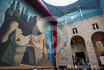 Dali Museum in Figueres, Spain Editorial Image