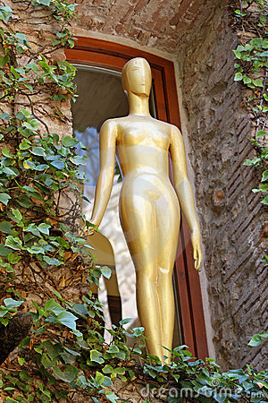 Dali s Museum in Figueres, Spain Editorial Stock Image