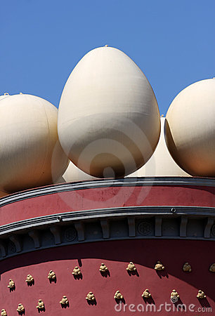 Dali s Museum in Figueres, Spain Editorial Stock Photo