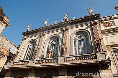 Dali Theatre and Museum Figueres Spain Editorial Photography