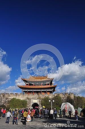 Dali, Yunnan province, China. Tourism Editorial Image