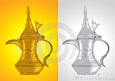 Dallah - the Traditional arabic coffee pot