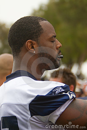 Dallas Cowboys Open Day of Training Camp Editorial Image