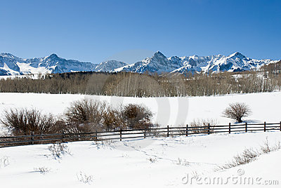 Dallas Divide in Winter