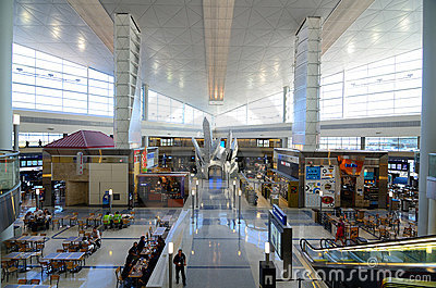 Dallas/Fort Worth International Airport Editorial Stock Photo