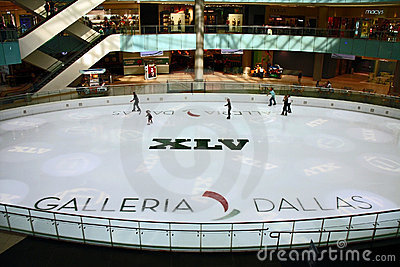 Dallas Galleria Super Bowl XLV Editorial Photo