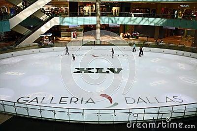 Dallas Galleria Super Bowl XLV Editorial Photo