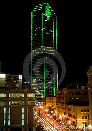 Dallas Texas Skyline (night)