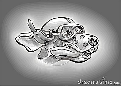 Dalmatian Dog Driver