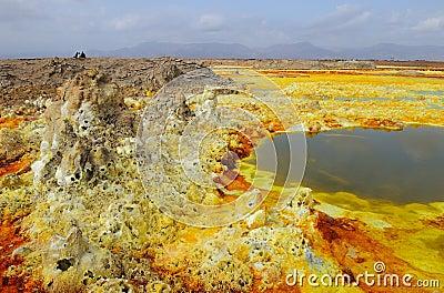 Dalol volcanic activity