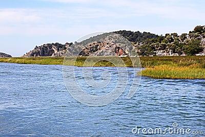 Dalyan River in Turkey
