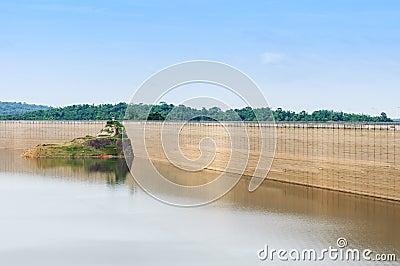 Dam catchment